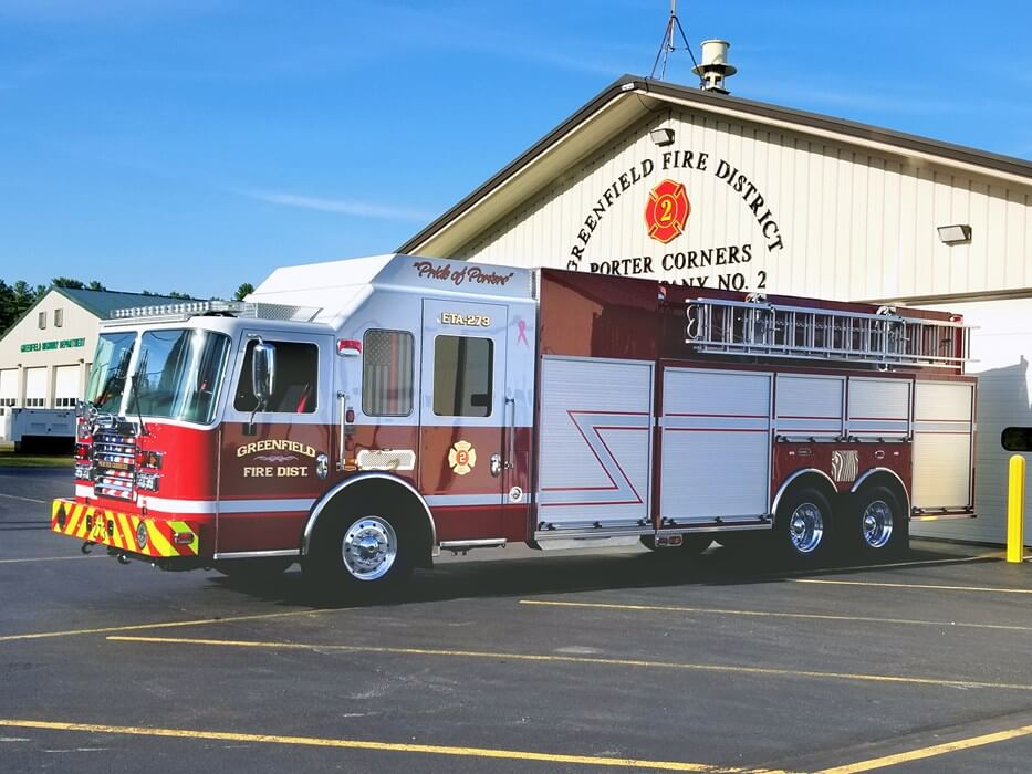GREENFIELD FIRE DISTRICT, NY
