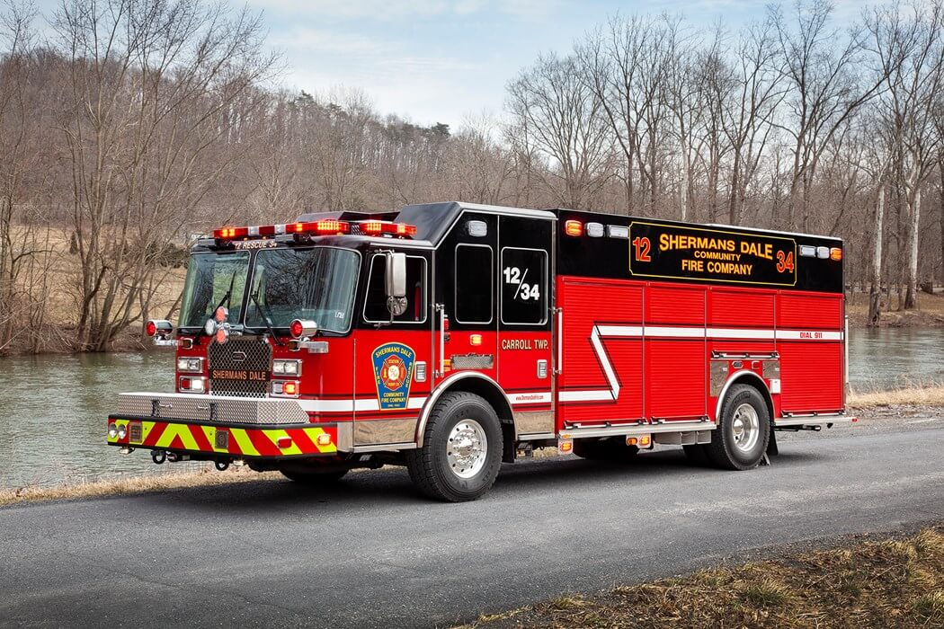 SHERMANS DALE FIRE COMPANY, PA