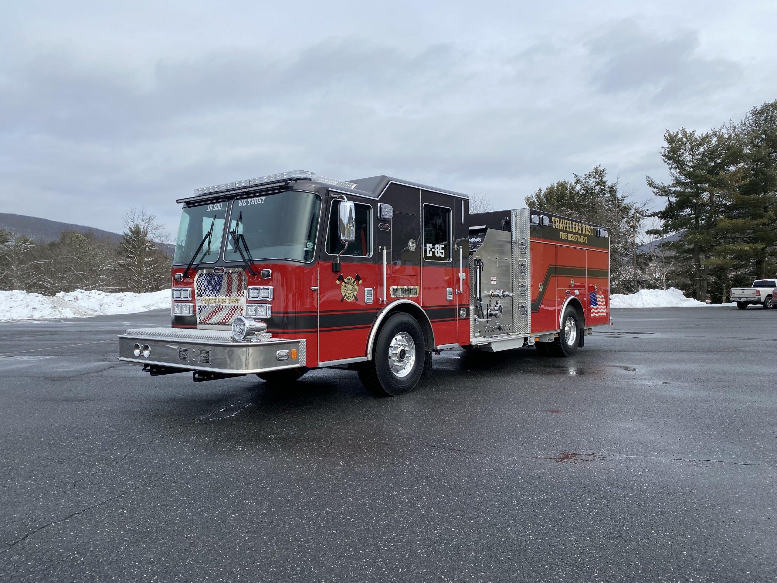 Travlers Rest Fire Department, SC