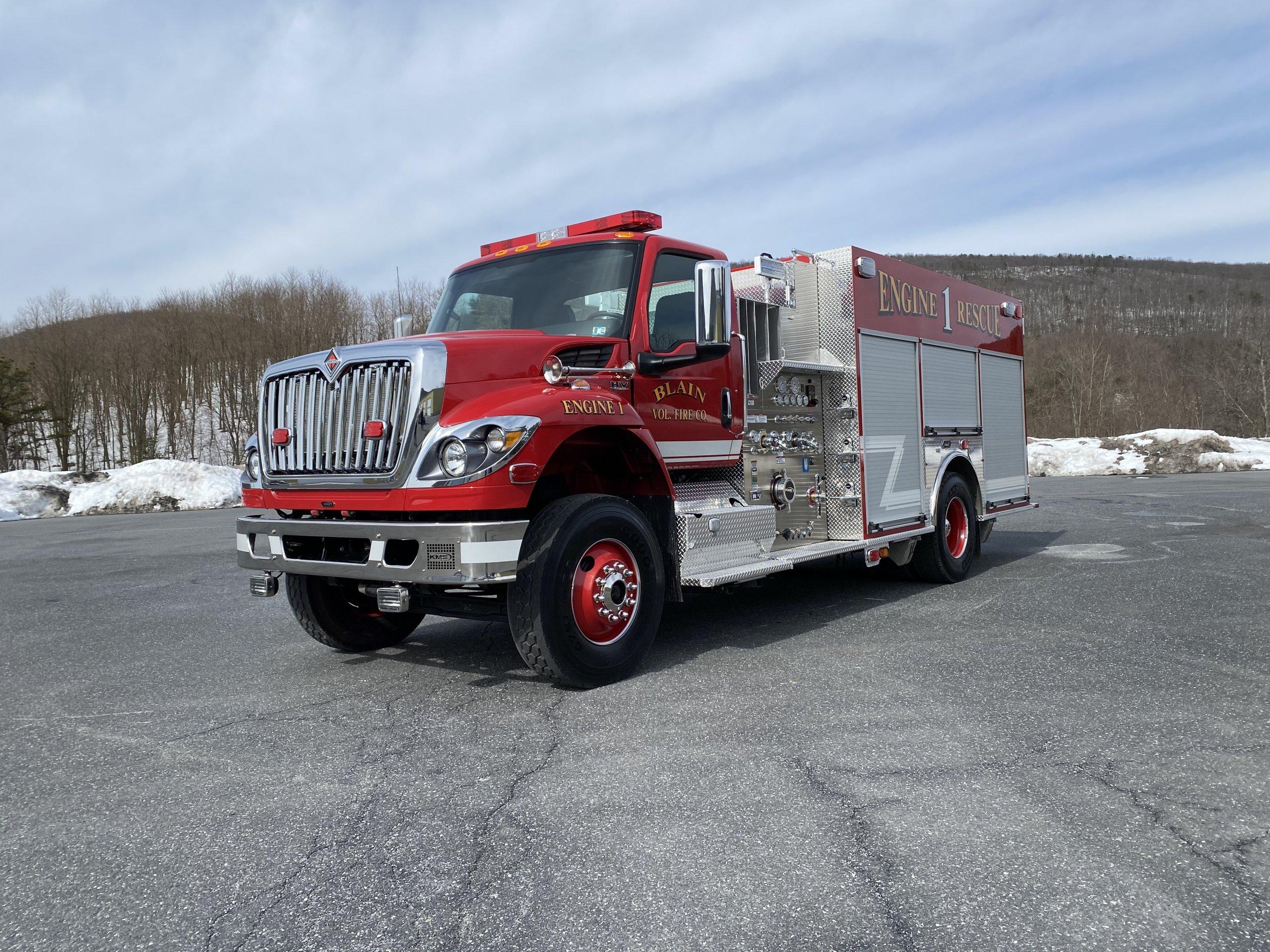 Blain Volunteer Fire Company, PA