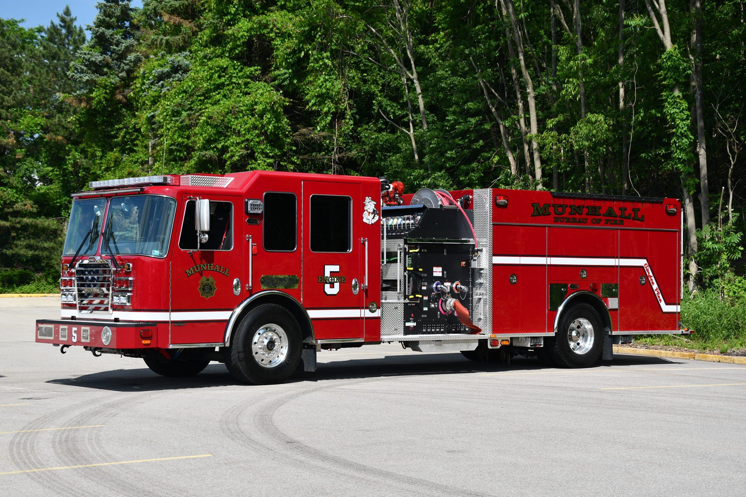 Munhall #5 Volunteer Fire Company, PA